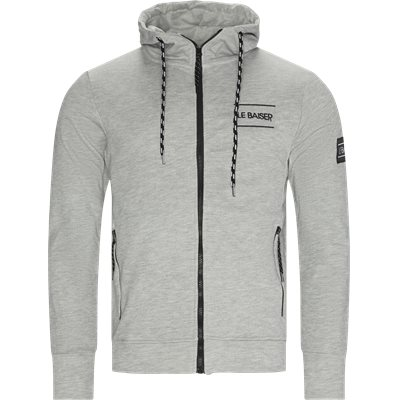 Cuisine Zip Sweatshirt Regular | Cuisine Zip Sweatshirt | Grå